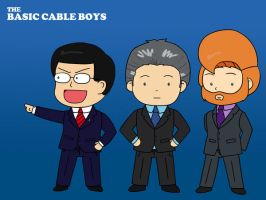 The Basic Cable Boys by ThePockyGirl