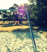 swing in the sun by mangagal1