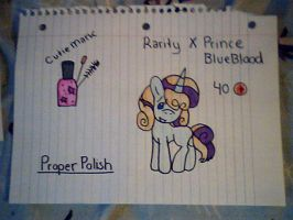 RarityXPrinceBlueblood TAKEN by SpottyBadger