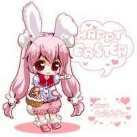 Happy Easter Card by tickledpinky