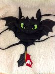 Deluxe Toothless Purse by forensicfox