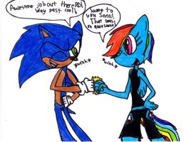 Sonic and Anthro RD by incarnation982