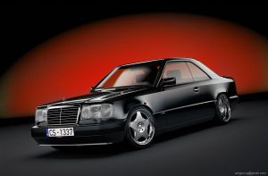 Mercedes-Benz W124 Coup by sergoc58