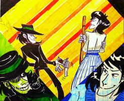 Jigen and Goemon by MariaRuta