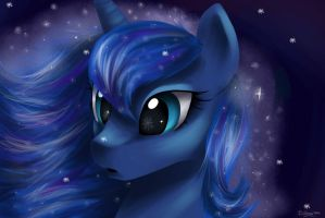 Luna's snow by cattoy10