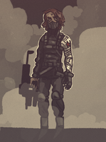 winter soldier by thorxpoptarts