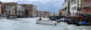 Venice Great Channel Panaromic by TanBekdemir