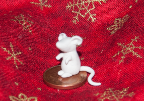 Polymere-clay-mouse by Psycho-Kuscheldecke