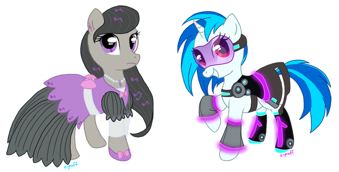 Vinyl and Octavia Gala dress by C-Puff
