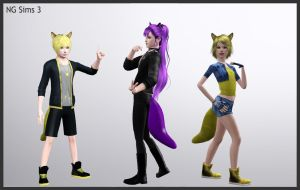 Fox Tail Accessories 4 by ng9