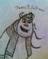 James P. Sullivan by InvaderAllieNinja