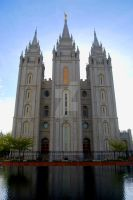 LDS Salt Lake Temple by creativelycharged