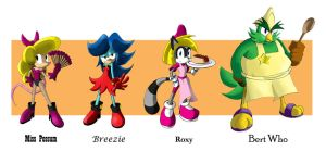 Sonic AU- Aosth chart by AnTyep