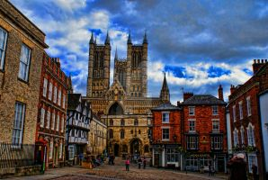Lincoln Cathedral 3... by TheBaldingOne