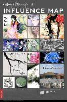 My influence map by HuyetPhung