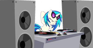 Vinyl Scratch by PanzerKnacker73
