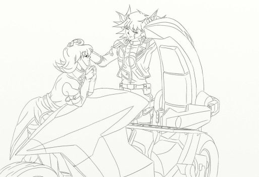 [Lineart]StarlightShipping - My missing piece by BeckyVida