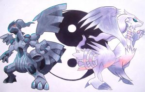 The Yin Yang Pokemon by MagicKnightNova