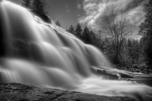 BW Falls by Originalbossman