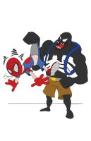 The Spider Wedgie by jimferno