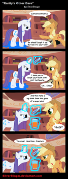 Rarity's Other Dare by SilverSlinger