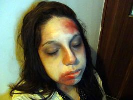 Jim Moriarty zombie cosplay (female) by BellaMoriarty