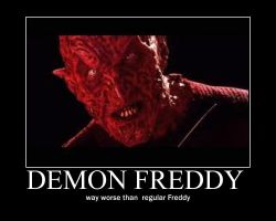 demon Freddy by Freddylover13