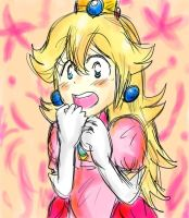 Princess Peach by LakuGaki
