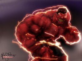RED HULK by arjz003