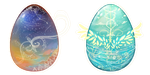 [CLOSED] Starry Slumber Mystery Eggs {AUCTION} by maruuneko