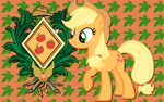 Apple Jack CoA WP by AliceHumanSacrifice0