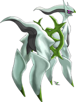 Arceus Bug Type by Xous54