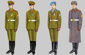 Soviet Army Uniforms 46 by Peterhoff3
