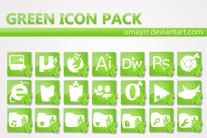 Green Icon Pack by umayrr