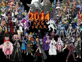 Villains Happy New Years by ryokia96