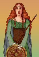 Boudica by andi-scribbles