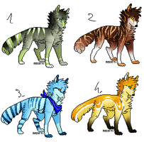 CLOSED - Canines Adoptables 264 by LeaAdoptables