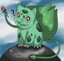 #001: Bulbasaur by ThatLooIsaSpy