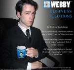 Webby Business Solutions by aprilchild