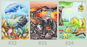 Pokemon ACEO by Muukster