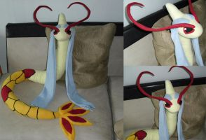 Shiny Milotic Plush by Shadowless-Dreamer