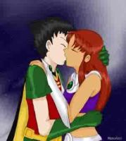 Starcrossed lovers by Angelbab by teentitans