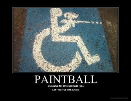 Paintball for Disabled by VanillaAvenue