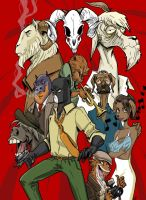 Blacksad vol.4 by RNZZZ
