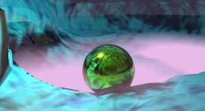 Lost Green Sphere by Topas2012
