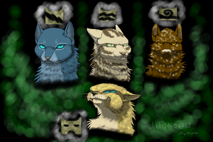 Cats Warriors leaders. by Arjello