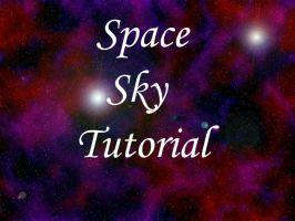 Space Sky Tutorial by Aeleanor