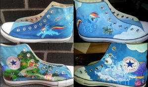 Finished Mlp Shoes by GamerGirl84244