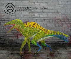 SCP-682 by ArticZephyr
