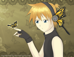 Magnet - Kagamine Len by CeruleanShadow